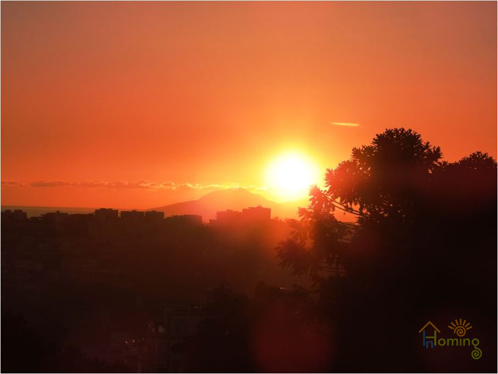 11 Night view at sunset