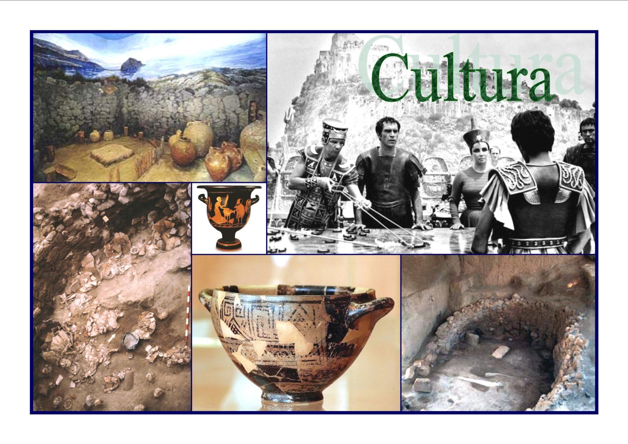 Cultura e tradizione ad Ischia: Ritrovamenti e scavi archeologici a Punta Chiarito, la famosa coppa di Netore e film Cleopatra al Castello Aragonese