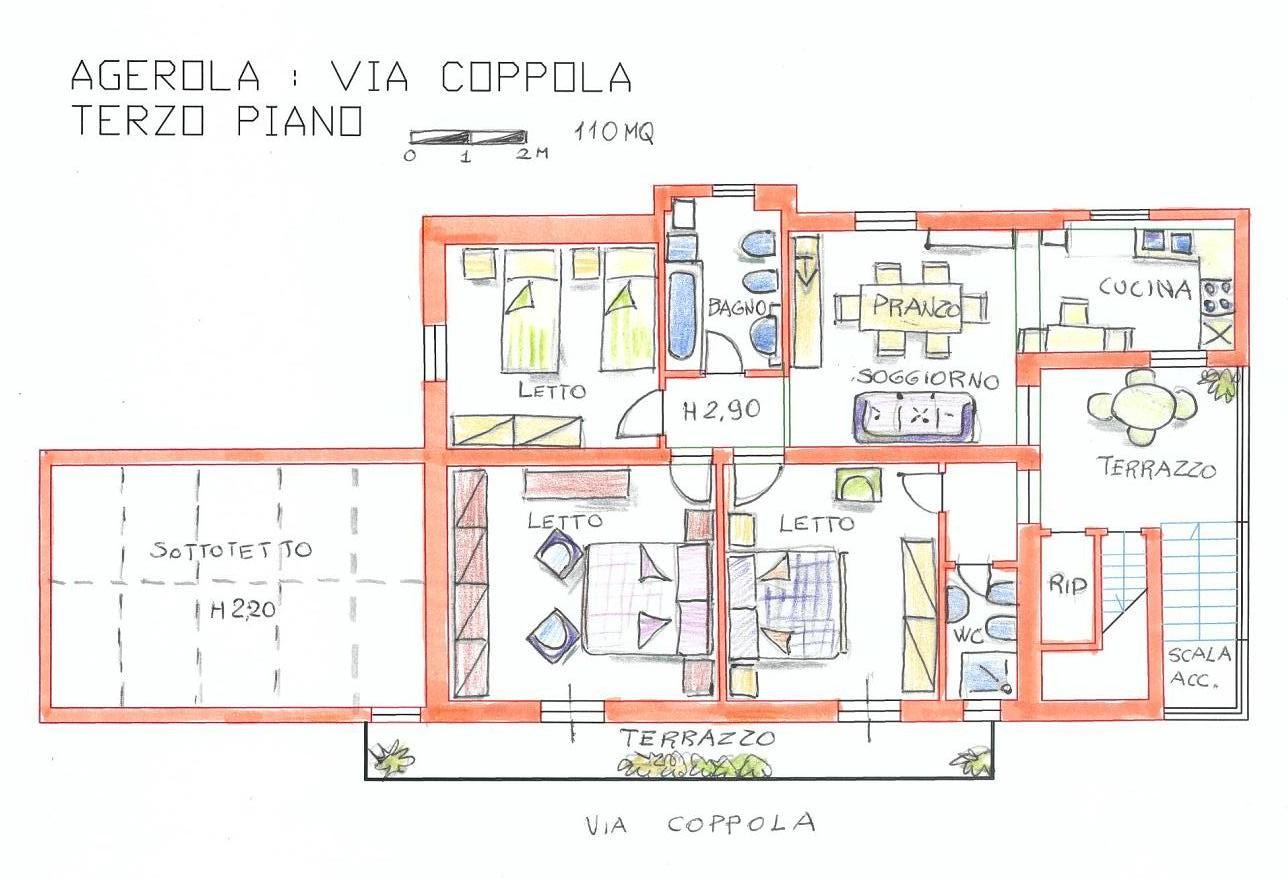 15 Pianta appartamento