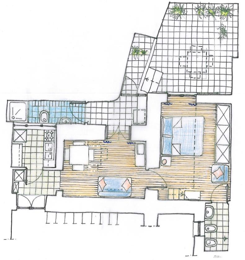 18 Piantina appartamento