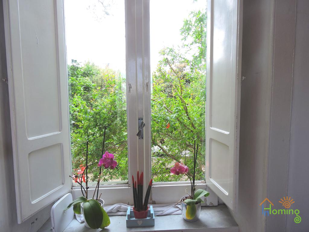 04 Casa al mare Cristina - finestra sul cortile interno