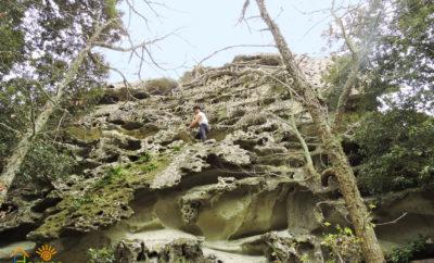 Monte Epomeo  ad Ischia nell'isola verde